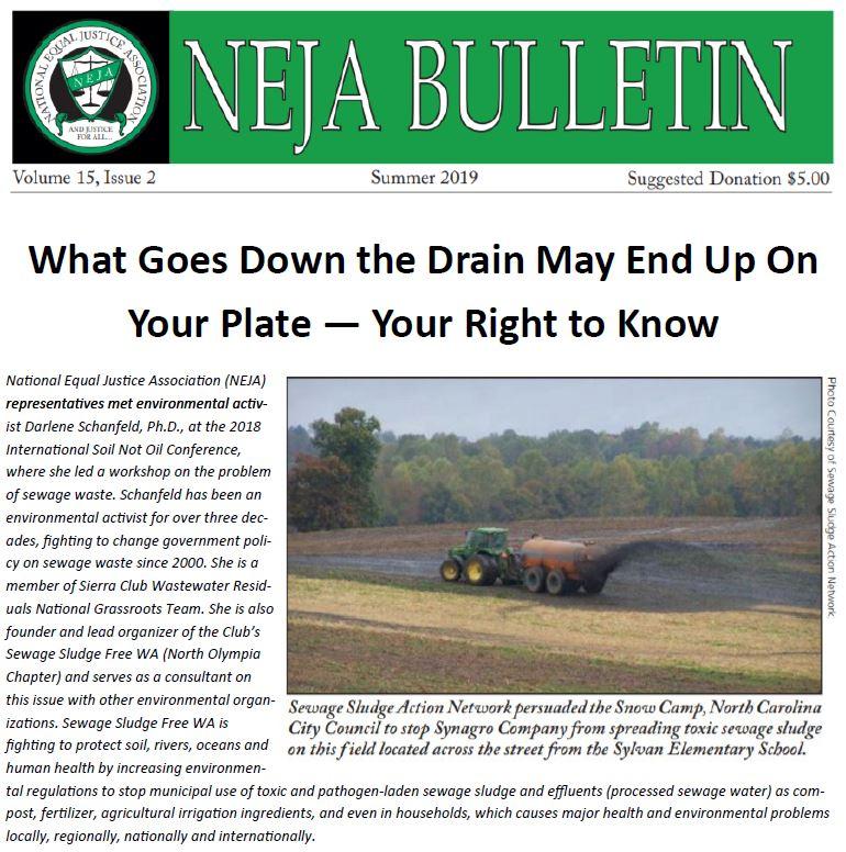 facsimile of NEJA Newsletter